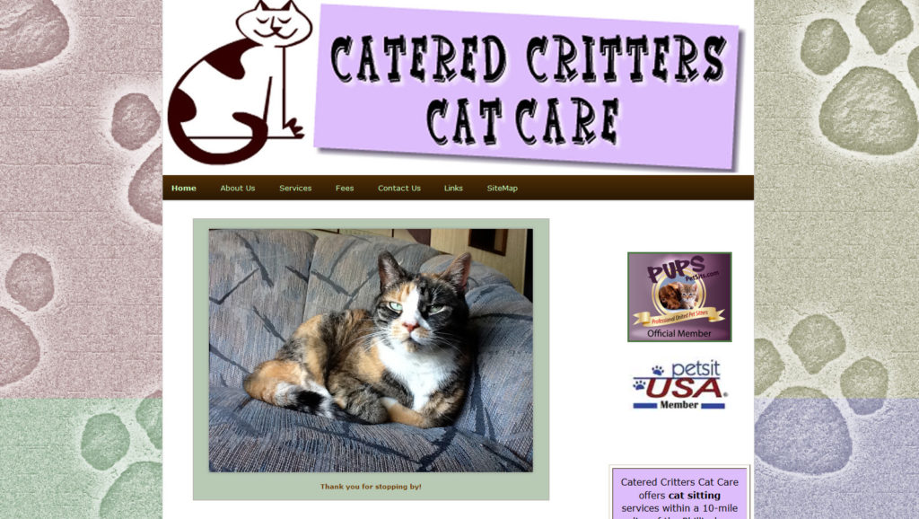 Catered Critters Cat Care